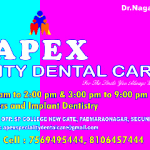APEX SPECIALITY DENTAL CARE, Hyderabad