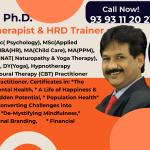 Dr. Krantikar Psychologist & Hypnotherapist, Hyderabad