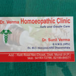 Dr Verma homoeopathy clinic | Lybrate.com