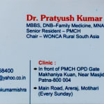 Dr. Pratyush Kumar | Lybrate.com