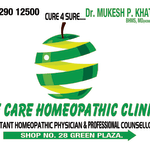 Life Care Homeopathic Centre, Surat