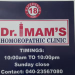Dr. Sk. Mazhar Imam  - Homeopath, Hyderabad