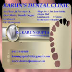 Dr. Karun Gupta - Dentist, Jammu