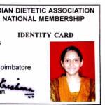 Dt. Asha - Dietitian/Nutritionist, Bangalore