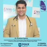 Dr.Prashant Saxena - Pulmonologist, Delhi