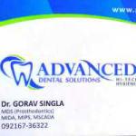 Dr. Gorav  Singla - Dentist, Patiala