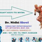 Dr. Nidhi Abrol - Physiotherapist, Gurgaon