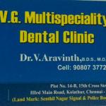 Dr. V. Aravinth Vetrivel - Dentist, Chennai