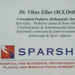 Dr. Vikas Ellur - Orthopedist, Bangalore