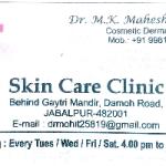 Dr.M K Maheshwari - Dermatologist, Jabalpur