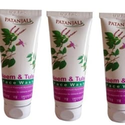 Patanjali Neem Tulsi Face Wash Pack of 3
