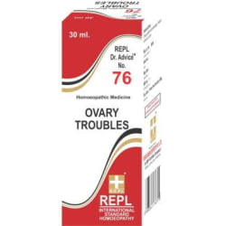 REPL Dr  Advice No 76 Ovary Troubles Drop