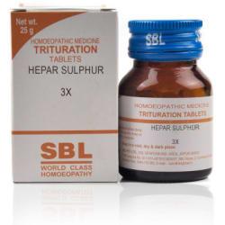 SBL Hepar Sulphur Trituration Tablet 3X