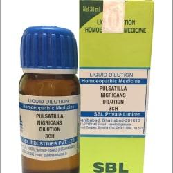 SBL Pulsatilla Nigricans Dilution 3CH