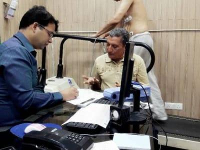 Pulse heart centre Dr Prakash Chand Shahi MD DM Cardiology in