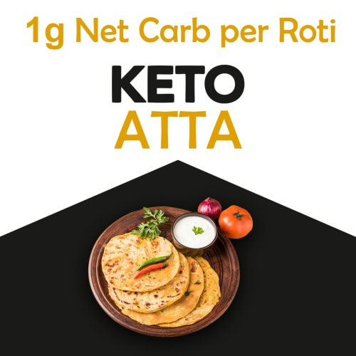 NutroActive Keto Atta (Extremely Low Carb Flour) -  750 Gram - 2