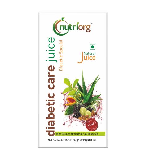 Nutriorg Diabetic Care Juice
