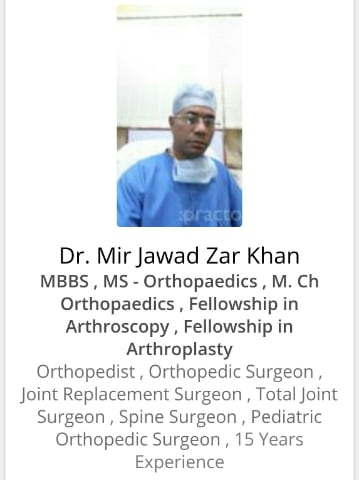 Orthopedic Surgeons in Hyderabad - Book Instant Appointment, Consult