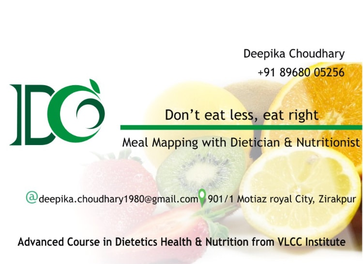 Dt  Deepika Chaudhary - Book Appointment, Consult Online
