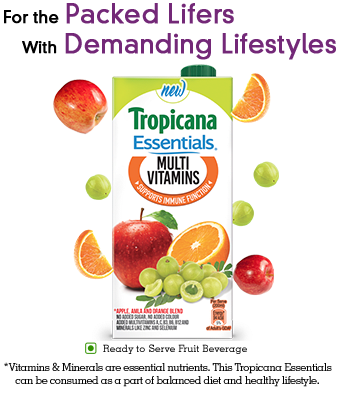 Image result for Tropicana Essentials - Multivitamin 200ml(Pack of 2) ₹60 for Free