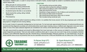 Coccydynia treatment in bangalore dating