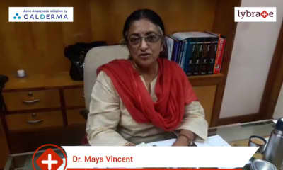 Lybrate | Dr  Maya Vincent speaks on IMPORTANCE OF TREATING ACNE EARLY