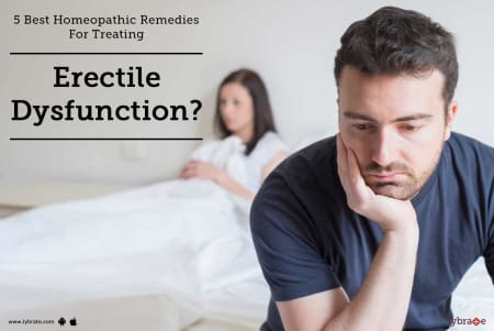 5 Best Homeopathic Remedies For Treating Erectile Dysfunction? - By