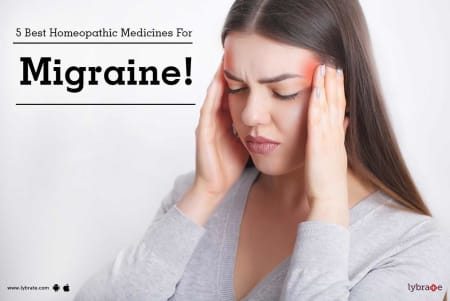 5 Best Homeopathic Medicines For Migraine! - By Dr  Vishakha