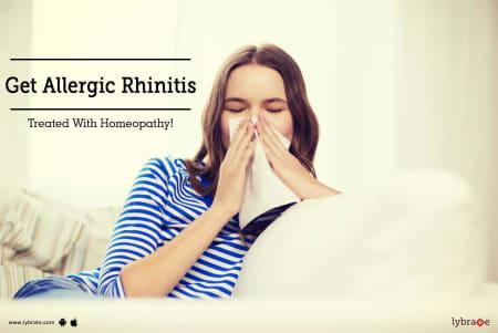 Get Allergic Rhinitis Treated With Homeopathy! - By Dr. Prashant Sharma    Lybrate