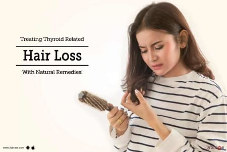 Treating Thyroid Related Hair Loss With Natural Remedies By Dr