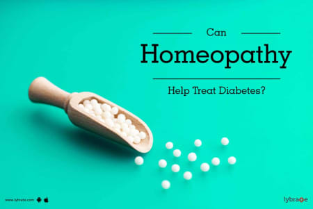 Can Homeopathy Help Treat Diabetes? - By Dr  Nikhil
