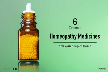 6 Common Homeopathy Medicines You Can Keep at Home - By Dr