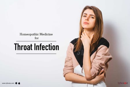 Homeopathic Medicine for Throat Infection - By Dr  Deepak