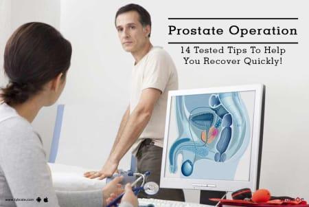 prostate operation