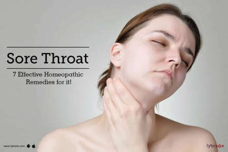 Sore Throat - 7 Effective Home Remedies for it! - By Dr  Prashant