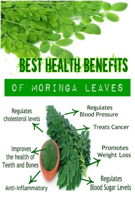 Benefits of Moringa And Its Side