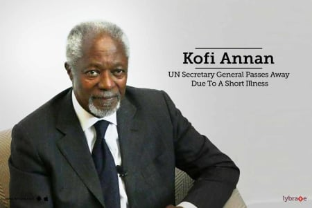 Kofi Annan Un Secretary General Passes Away Due To A Short