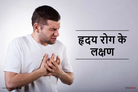 Symptoms of Heart Disease in Hindi - हृदय रोग के