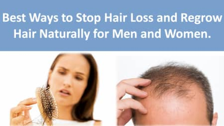 How to stop hair falling naturally