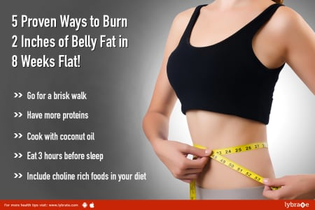 5 Proven Ways To Burn 2 Inches Of Belly Fat In 8 Weeks Flat By Dt