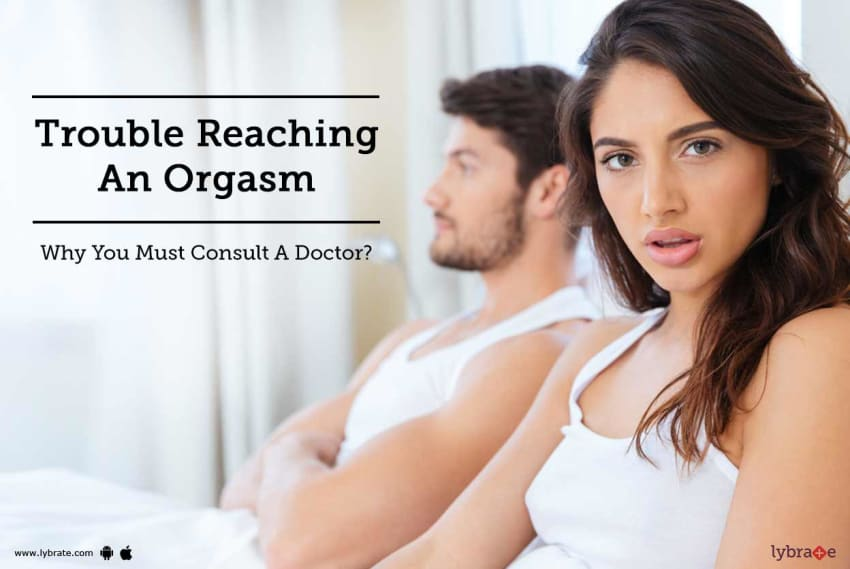 Male trouble with orgasm have