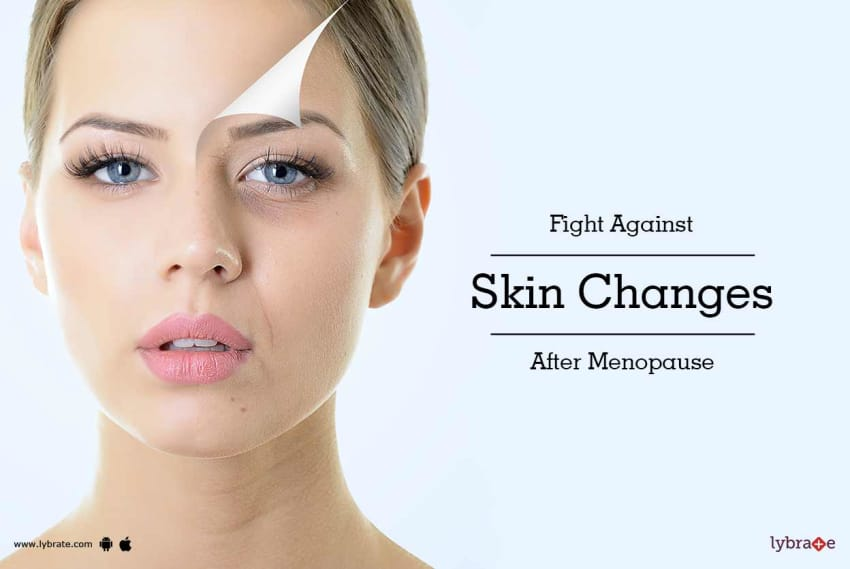 Skin changes during perimenopause