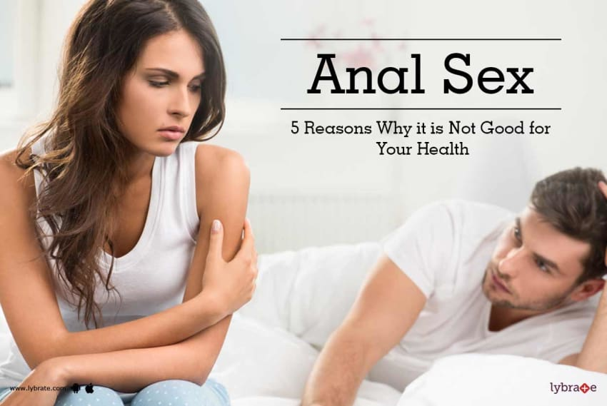 Health conserns with anal sex