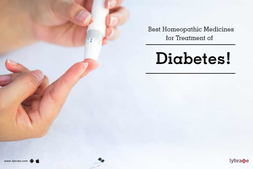 Best Homeopathic Medicines for Treatment of Diabetes!
