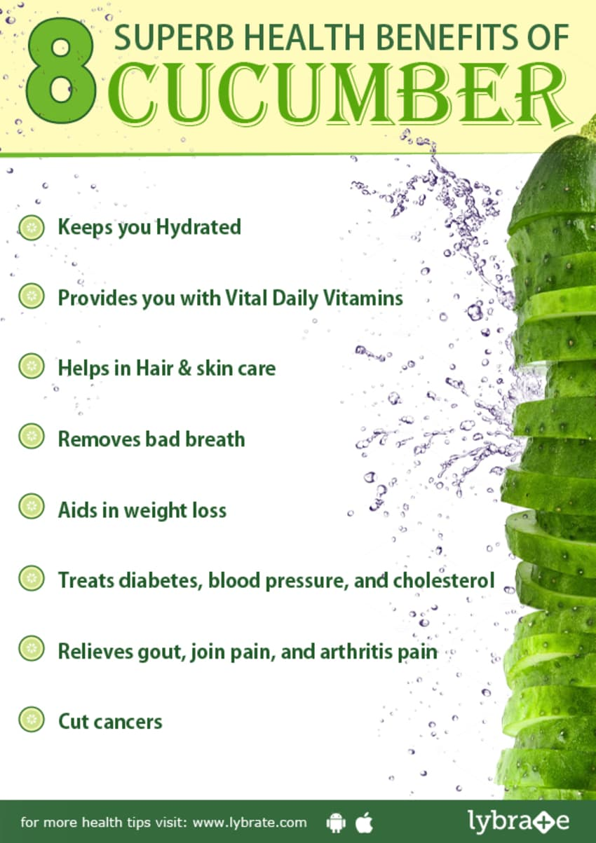 What are the vitamins in cucumbers and tomatoes? 19