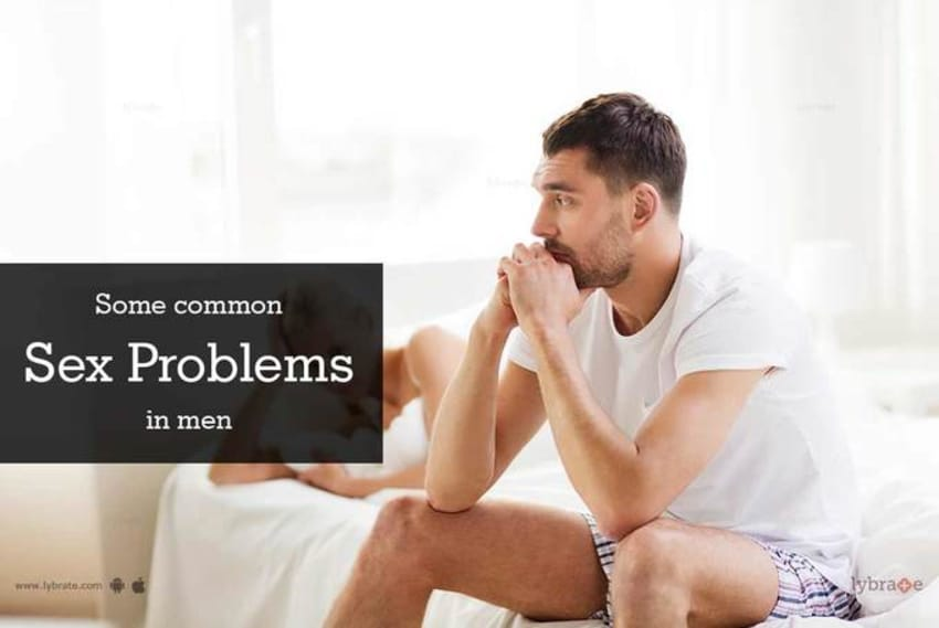 Sexual problems and cures for men