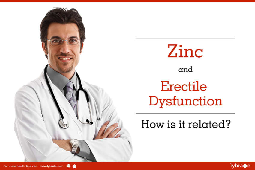 does zinc help with erectile dysfunction