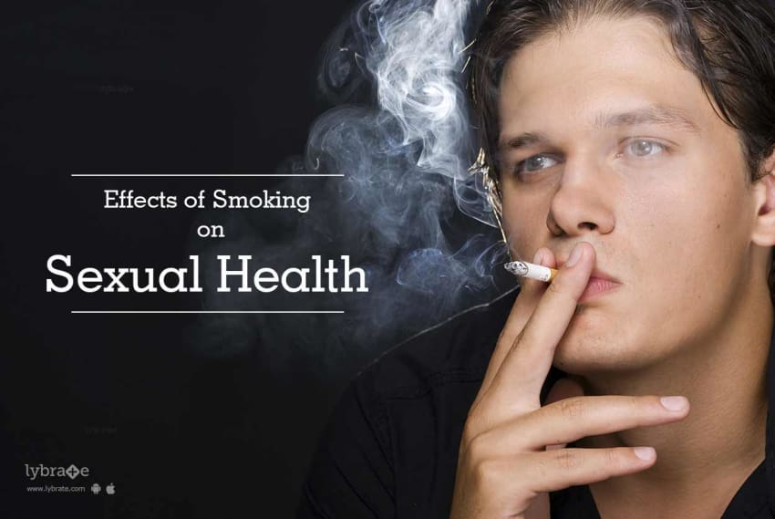 Smoking affect male orgasm