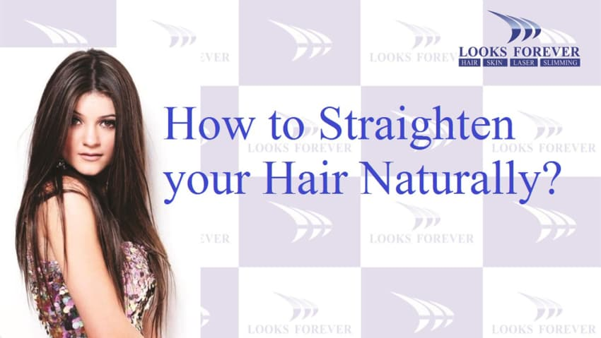 7 Home Remes To Get Straight Hair Naturally