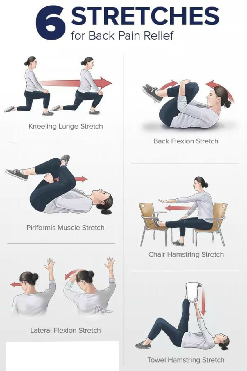 stretches for back pain relief by dr shamik bhattacharjee lybrate